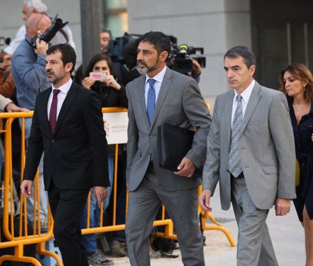 Trapero acude a declarar a la Audiencia Nacional