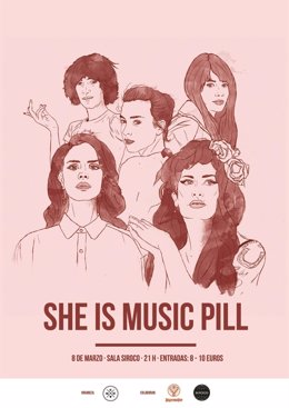 SHE IS MUSIC PILL