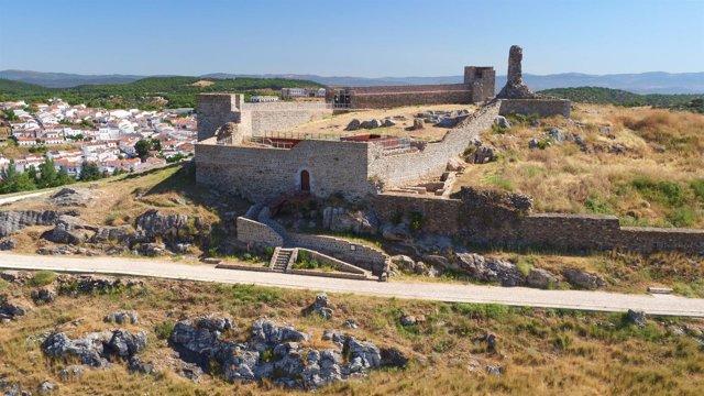 Castillo de Aracena (Huelva).
