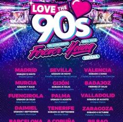 El festival Love the 90's omplirà el Palau Sant Jordi de música dance a l'octubre (THE PROJECT)