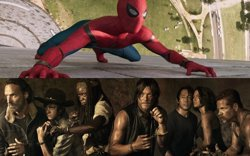 Un actor de The Walking Dead hizo la prueba para Spiderman (SONY/AMC)