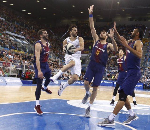Real Madrid contra FC Barcelona Lassa en la final de la Copa del Rey