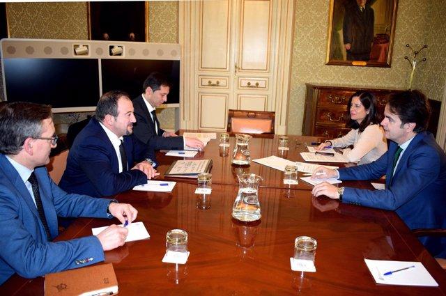 Millán se ha reunido hoy con Bermúdez de Castro en Madrid