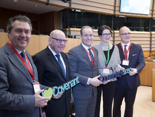 European Covenant Of Mayors 2018 Ceremony