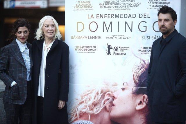 Photocall de la película 'La enfermedad del domingo'
