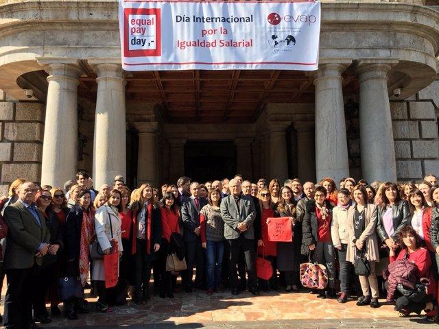 Acto del Equal Pay Day en València