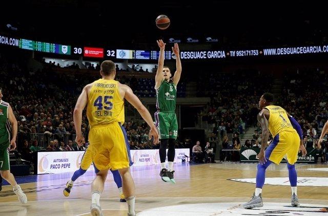 Unicaja da un golpe de autoridad ante Maccabi y tiene a dos el 'playoff'
