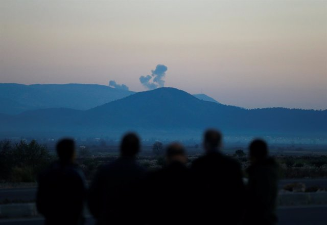 Bombardeo turco en Afrin, Siria