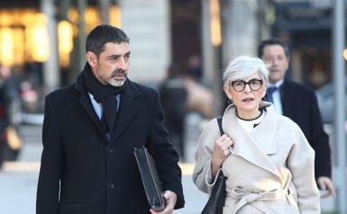 Trapero arriba a l'Audiència Nacional per declarar per l'1-O (EUROPA PRESS)