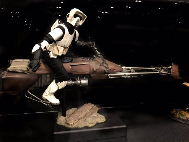 Soldado imperial de la saga Star Wars
