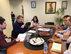 Domènech lamenta que JxCat ofereixi una resolució per legitimar Puigdemont i no un Govern (Europa Press)