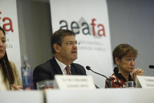 Catalá inaugura el XXV encuentro de Asociación Española de Abogados de Familia