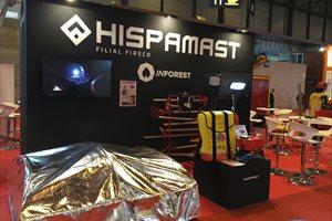 Hispamast innova en Sicur 2018 con un producto que facilita el trabajo a los cuerpos de extinción y rescate
