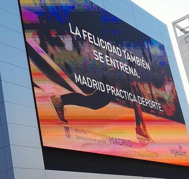 Nuevo polideportivo en el distrito de Fuencarral-El Pardo