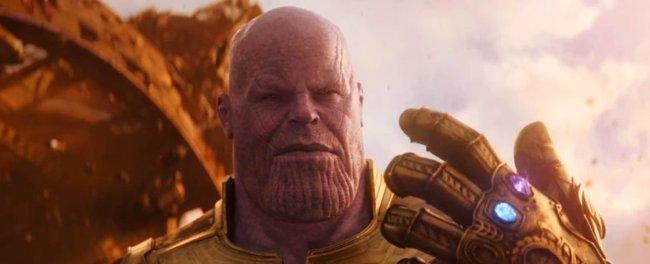 Infinity War: Genial Funko POP de Thanos con el Guantelete del Infinito... completo (MARVEL)