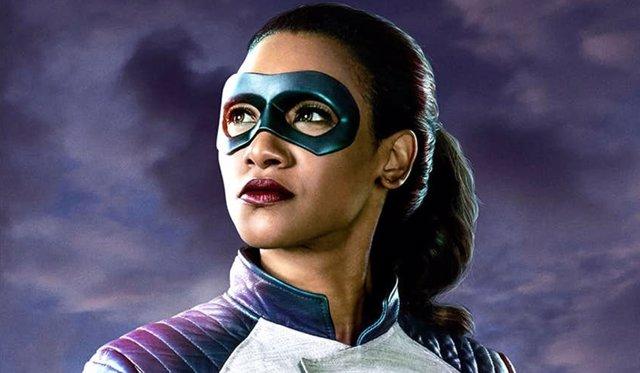 Candice Patton en The Flash