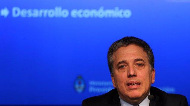 Foto de archivo del ministro de Hacienda argentino, Nicolás Dujovne
