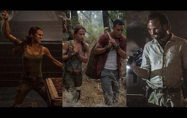 Tomb Raider: Alicia Vikander, la nueva Lara Croft, promete mucha acción en las nuevas imágenes
