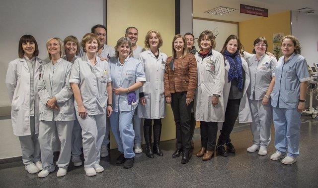 Enfermeras participantes en el proyecto