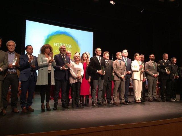 Acto de Distinción con motivo del 28F en Trigueros (Huelva).