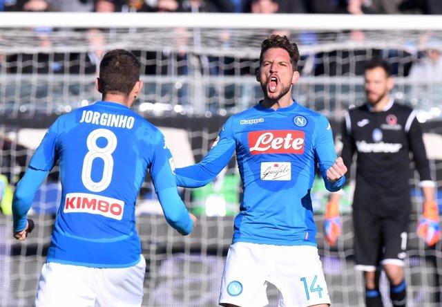 El Nápoles suma su quinta victoria consecutiva ganando al Atalanta
