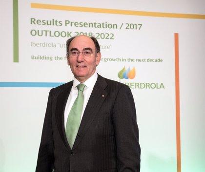 Galán (Iberdrola) percibió 9,47 millones en 2017 con el bonus en acciones, un 1,3% más