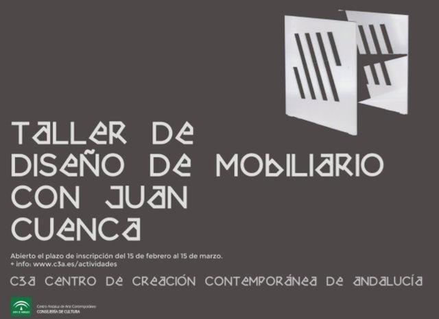 El C3A acogerá un taller de diseño de mobiliario