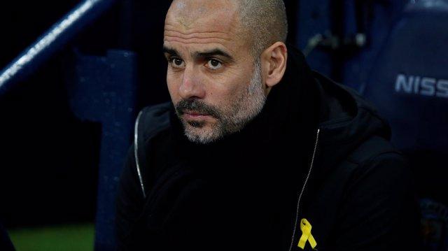 Pep Guardiola se lleva fuerte sanción por lazo amarillo 0