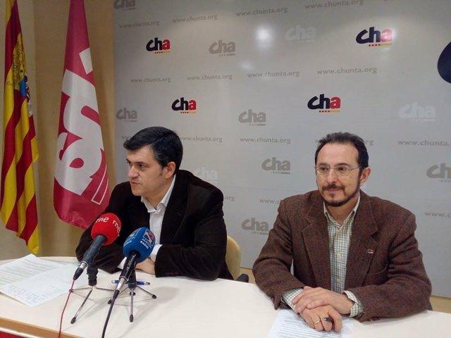 Joaquín Palacín y Miguel Martínez
