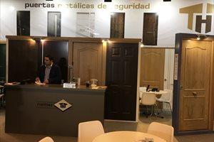 La empresa Puertas THT presenta en Smart Doors 2018 sus novedades en aislamiento, seguridad y diseño