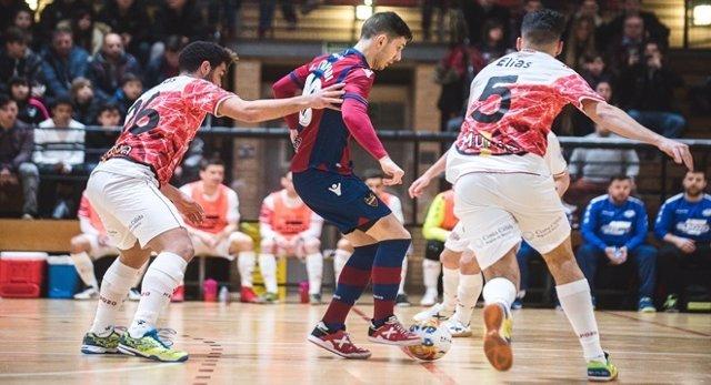 ElPozo Murcia ante Levante UD FS
