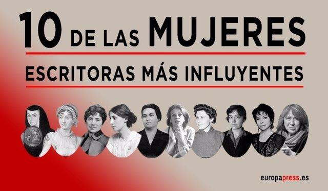 Las mujeres escritoras más influyentes de la historia
