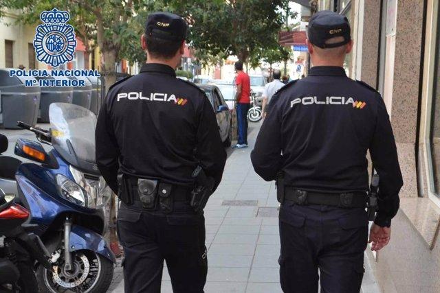La Policía Nacional Detiene A Un Individuo Por Un Robo Con Violencia Perpetrado