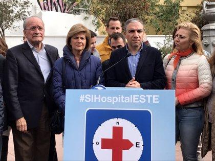 """El PP reitera la """"necesidad"""" de un hospital en la zona este que """"complemente"""" al anunciado por la Junta"""