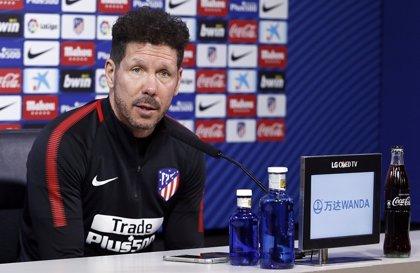 """Simeone: """"Estaría bien poner una fecha en común para tranquilizar a jugadores y entrenadores"""""""