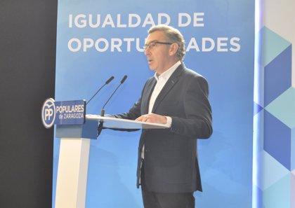 """Beamonte (PP) recuerda a Rajoy que la financiación autonómica debe abordarse desde la perspectiva de la """"solidaridad"""""""