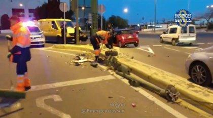 Da positivo en alcohol la conductora de un cuadriciclo tras un accidente con dos menores heridos leves en Sevilla