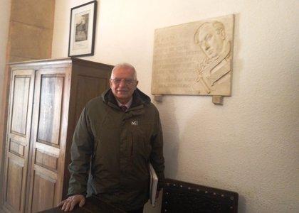 """Borrell habla de las """"dos Cataluñas"""" durante un acto de homenaje a Machado en Soria"""