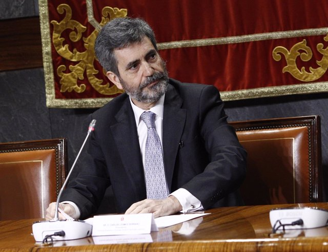 Carlos Lesmes clausura una jornada en el CGPJ