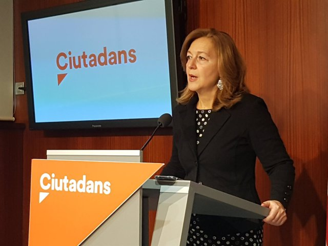 La líder de Cs en Barcelona, Carina Mejías