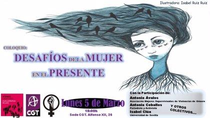 Ateneo Libertario Guillermina organiza un coloquio en Sevilla en torno al significado del Día Internacional de la Mujer