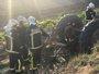 Muere un hombre de 91 años aplastado por su tractor tras caer por un terraplén en una finca en Brunete