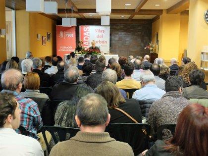 Cosculluela (PSOE) apuesta por seguir escuchando a los ciudadanos para hacer frente a problemas como la despoblación