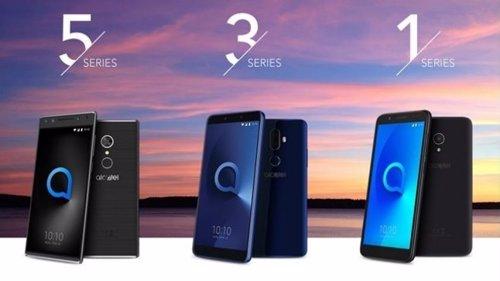 Todas las Series de 'smartphones' de Alcatel presentan la pantalla FullView 18:9