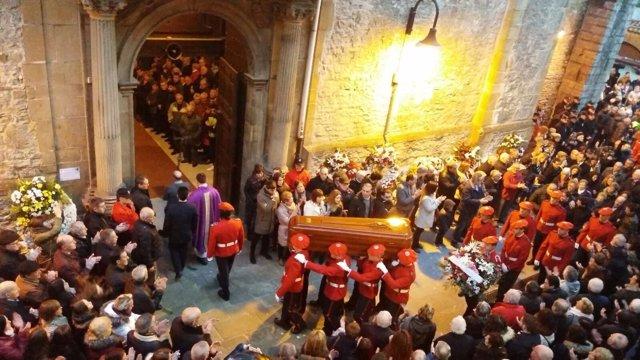 Funeral por Inocencio Alonso
