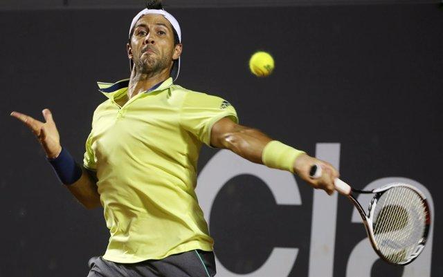 El tenista español Fernando Verdasco