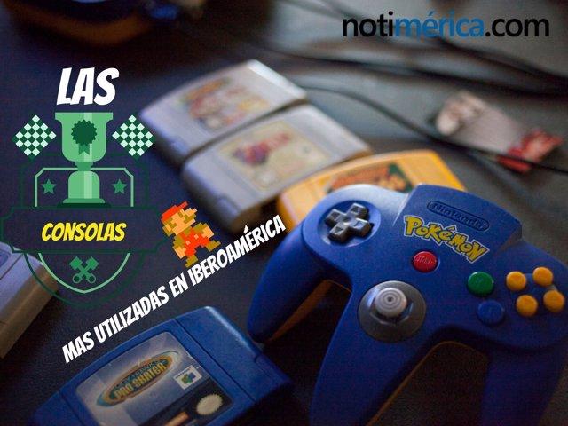 ¿Qué Consolas Prefieren Los Gamers Iberoaméricanos?