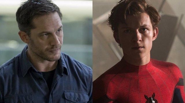 Eddie Brock y Peter Parker