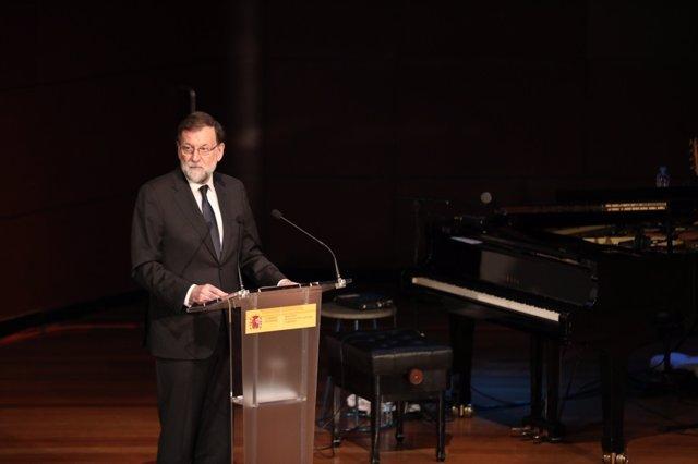 Intervención de Rajoy tras presentar el proyecto El español, lengua global