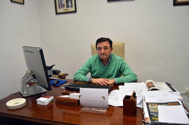 José Jesús Gázquez, director del Centro Asociado de la UNED en Almería.